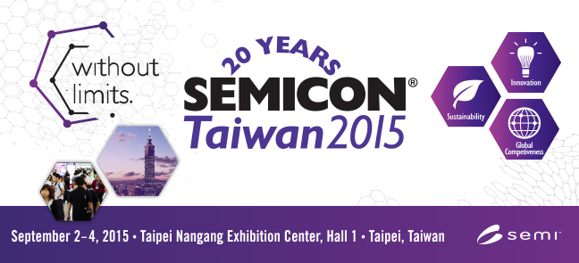 Semicon Taiwan 2015 Logo